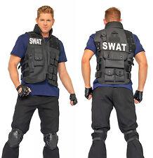 SWAT Commander Police Costume, Leg Avenue 83682, Adult Men's 4 Piece, One Size