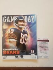 Mike Ditka Chicago Bears #89 SIGNED AUTOGRAPHED  Jersey Retirement Game Program