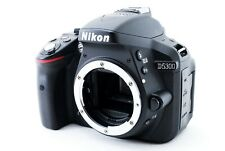 [Near Mint] Nikon D5300 24.2MP Digital SLR Camera Black Body w/ charger