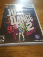 JUST DANCE 2 Nintendo Wii 2010  Rihanna Blondie Beastie Boys