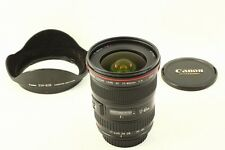 Excellent +++ CANON  EF 17-40mm F4L USM Wide Angle AF Zoom Lens From JAPAN##