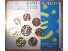 2002 Grecia 8 monete 3,88 EURO grece greece griechenland Греция 希臘  Griekenland