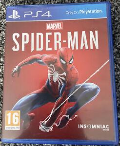 Playstation 4 PS4 - Marvel Spider-Man - VGC - Free UK PP