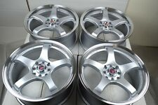 17 Rims Wheels Tires Vigor XB Mirage Prelude Miata CL Accord Civic 4x100 4x114.3