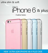ULTRA THIN CLEAR Crystal Rubber Silicone Soft Cover Case For iPhone 6 6 plus