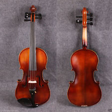 "New 16"" 5 strings Viola maple ebony parts Russian SPruce maple +free gifts #4"
