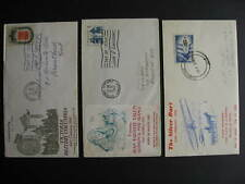 Canada 3 unknown cachet FDC first day covers Sc 383 Avro, 398 (cut open), 399