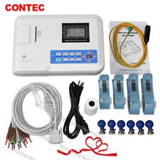 Hot sale LCD Screen 1-channel 12-lead ECG EKG Machine with printer paper,ECG100G