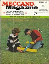 Vintage October 1971 Issue of Meccano Magazine Dinky Toy, Armored cars, Models