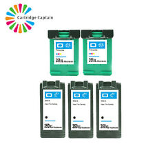 5PCS 350XL 351XL Ink Cartridges for HP Photosmart D4360 J5790 C5250 D4200 C4583