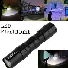 E340 1801 LED Flashlight Torch Durable 3W Black Tactical Military Cycling