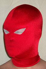 NEW RED WHITE SPANDEX MASK COSTUME JASON TODD BATMAN