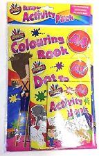 Paquete De 3 Niños Niño A4, colorantes Dot to Dot de A5, A6 de actividades aprendizaje Libro De Arte