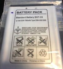 new BST-33 Battery K550i K790a W880i W950i W300i W610i 730mAh