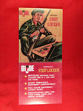 ** 1964-1976 GI JOE CANADA ** New GI Joe Foot Locker Sleeve Army Marine Navy