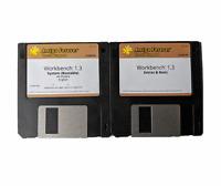 "New Amiga OS Workbench 1.3 Disk Set Cloanto Edition 3.5"" Real New DD Floppy #673"