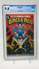 OMEGA MEN #3 CGC 9.8 NM+ / MT DC COMICS 1983 1ST APPEARANCE OF LOBO