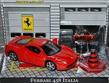 Ferrari 599xx Diecast Scale 1/43 Race & Play Plus Diorama Garage Items