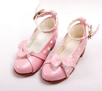 1/3 bjd SD13 SD10 girl doll pink color flat shoes dollfie dream Luts Smart