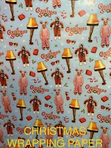 A CHRISTMAS STORY - GIFT CHRISTMAS WRAPPING PAPER - 20 SQ FT 🎄🎁 FREE SHIPPING