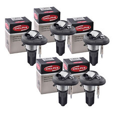 Set of 5 Delphi Ignition Coil GN10114 For Chevrolet GMC Isuzu Hummer 02-08