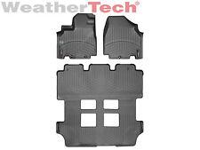 WeatherTech DigitalFit FloorLiner for Honda Odyssey - 2011-2017 - Black
