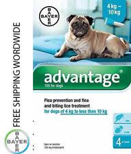 Pack 4 Advantage 100 medium dog 4kg - 10 kg (9lb - 22 lb) - ADVANTAGE