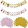 Baby Shower Photo Booth Birthday Banner String Flag Frame Garland Party Decor