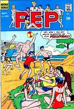 Silver Age Archie Comics Pep #233 1969 Beach Volleyball Cover