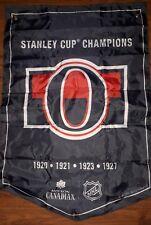 Coors Light Stanley Cup Banner Ottawa Senators.