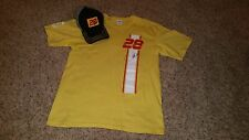 Ryan Hunter-Reay Autographed T-Shirt and Baseball Cap Hat and IndyCar Andretti