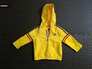 Tommy Hilfiger Bright Sun Yellow Youth Toddler Light Pullover Jacket Size 24Mos