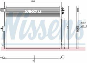 NISSENS (940411) Kondensator, Klimaanlage für JEEP