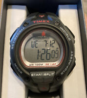 "Timex T5K417,Men's ""Ironman"" Watch, Resin 30-Lap Alarm, Chronograph, Indiglo NEW"