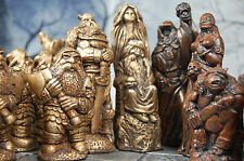 VERY LARGE Battle of Good V Evil Chess set,custom colours (Pieces only/No Board)