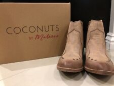 NIB Matisse Women's Western Ankle Boots Brown/Natural Size 6M $99