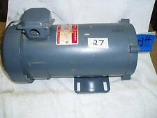 GE Industrial Electric motor DC180v 1ph 3/4hp 1725rpm