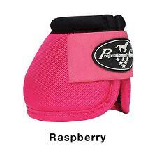 Professional's Choice Raspberry Ballistic Overreach bell boots Medium M Prof Pro