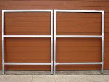 GALVANISED STEEL GATE FRAMES , 25X25 TUBING , SUIT 3M OPENING