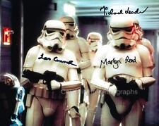 STAR WARS - Stormtroopers Triple Signed Photo GENUINE AUTOGRAPHS UACC (Ref:5604)