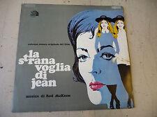 """ROD McKUEN""""LA STRANA VOGLIA DI JEAN-disco 33 giri CENTURY FOX Italy 1970""""OST"""
