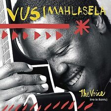"""The Voice by Vusi Mahlasela (CD, Jul-2003, ATO) AUTOGRAPHED BY ARTIST TO """"BILL"""""""