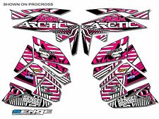 ALL YEARS ARCTIC CAT Z1 TURBO GRAPHICS KIT DECO WRAP DECOR Z1TURBO PINK