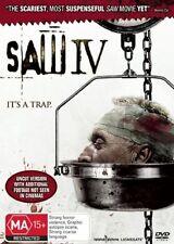 Saw IV Tobin Bell Region 4 DVD Brand New Sealed