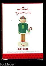 HALLMARK SUPER SON CHRISTMAS ORNAMENT 2013 NIB