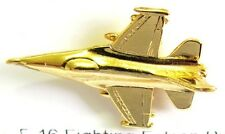 13287 GENERAL DYNAMICS F-16 FIGHTING FALCON AIRCRAFT PLANE AVIATION 3D PIN BADGE