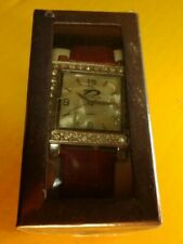 D Time Design quartz Watch with Pearls - NEW (Box Packaging) - Free Shipping