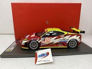 1/18 BBR 2007 Ferrari 430 GT Sebring Team White Lightning Racing  Part # AB18010