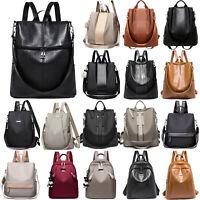 Women Waterproof Backpack Anti-Theft Ladies Travel School Rucksack Shoulder Bags