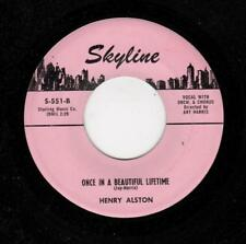 DOOWOP-HENRY ALSTON/GROUP -ONCE IN A BEAUTIFUL THING/WHAT IS THERE LEFT FOR ME